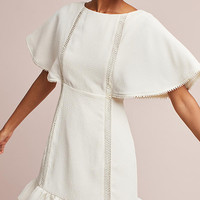 Amira Flutter-Sleeve Dress