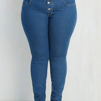 Skinny Karaoke Songstress Jeans in Classic - 1X-3X