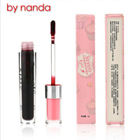 New Arrival By Nanda Beauty Makeup Lips Lipstick Long Lasting Moisturizing Easy To Wear Waterproof Lip Gloss 6 Color Lip Liquid