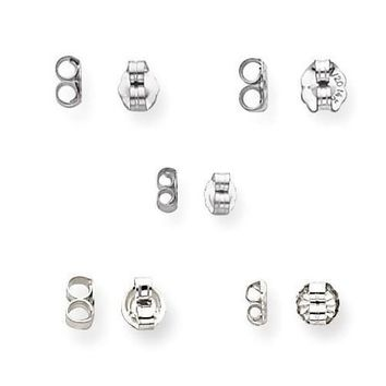 Sterling Silver Replacement Backs Variety Pack
