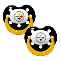 Pittsburgh Steelers 2pk Baby Pacifier