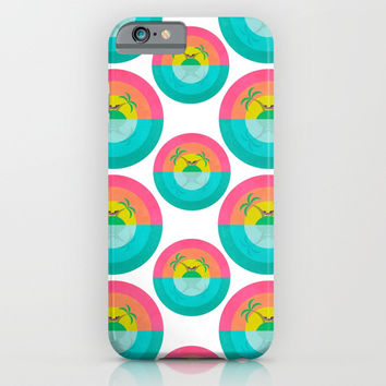 Summer Island Unicorn iPhone & iPod Case by That's So Unicorny