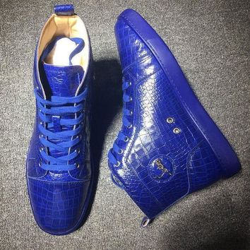 DCCK Cl Christian Louboutin Style #2170 Sneakers Fashion Shoes