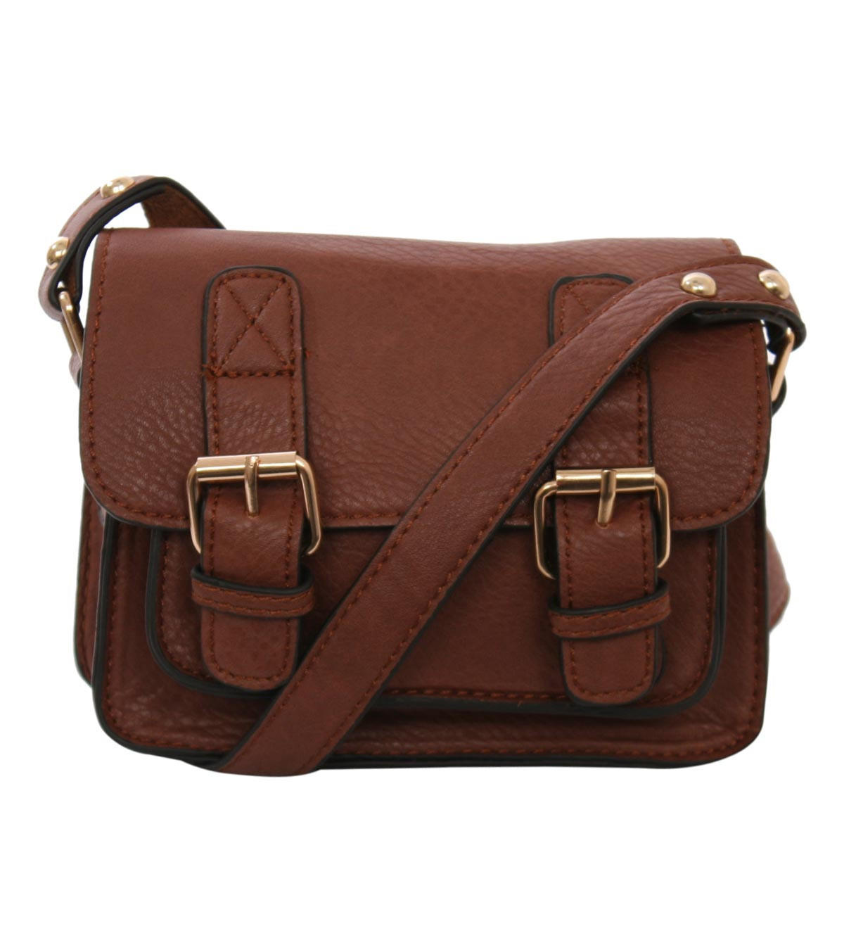 Macy Mini Leather Look Satchel Bag In From Pilot Bags