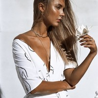 Naya Silhouette Playsuit - Playsuits by Sabo Skirt