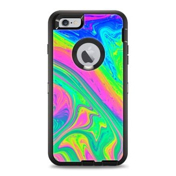 The Neon Color Fushion V3 Apple iPhone 6 Otterbox Defender Case Skin