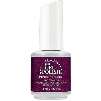 IBD Just Gel Polish Purple Paradise - #56678