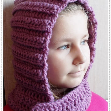 Crochet hood, Hooded cowl, Crochet hood cowl, Hooded cowl scarf, Scoodie Hooded Cowl, Hooded neckwarmer FREE shipping