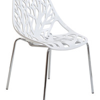 Modway Stencil Dining Side Chair - White