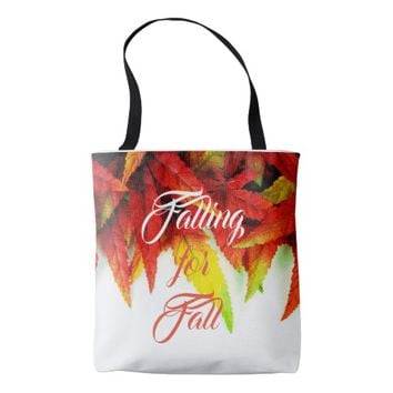 Falling for fall tote