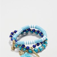Sea Voyage Beaded Bracelet Set