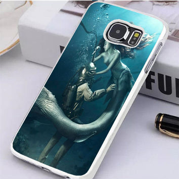 Diver And The Mermaid Samsung Galaxy S6 Edge Case  Dollarscase.com