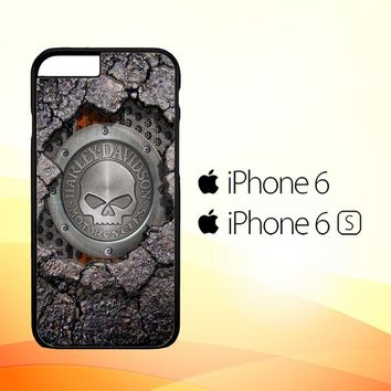 Harley Davidson Skull X4487 iPhone 6|6S Case
