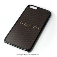 Gucci Red Stripe Design for iPhone and iPod Touch Case