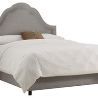 Jameson Bed, Gray, Panel Beds