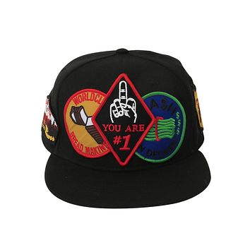 Eagle Scout Patched Out Snap Back Hat