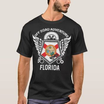 Florida Off Road Adventure 4x4 Trail Rides Mudding T-Shirt