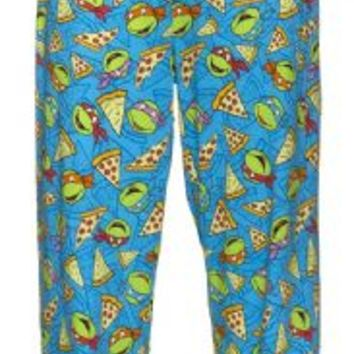 Teenage Mutant Ninja Turtles Pizza Blue Lounge Pants