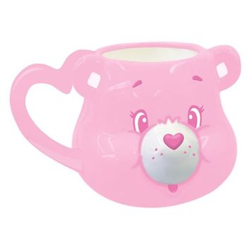 Care Bears Cheer Bear Sculpted Ceramic Mug - Vandor - Care Bears - Mugs at Entertainment Earth