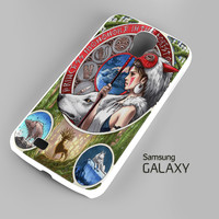 Princess Mononoke - Nouveau Art A0747 Samsung Galaxy S3 S4 S5 Note 3 Cases - Galaxy