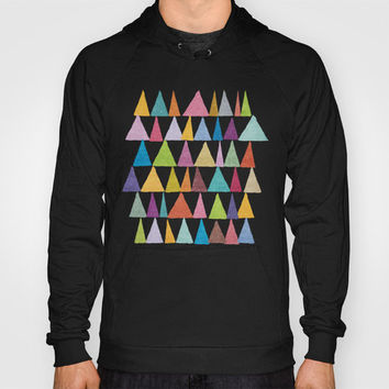 Analogous Shapes In Bloom. Hoody by Nick Nelson | Society6