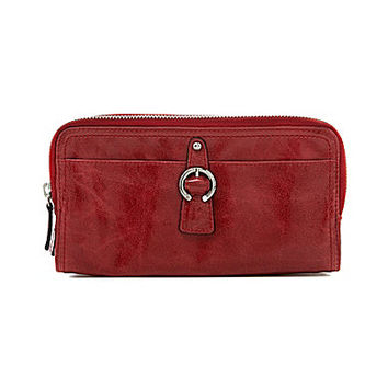 Tano Buckle Clutch Wallet