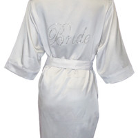 DB Exclusive Bride Satin Robe - David's Bridal