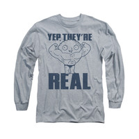 FAMILY GUY REAL BUILD Long Sleeve T-Shirt