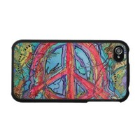 Peace Sign iPhone 4/4s Case from Zazzle.com