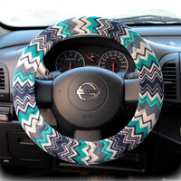 by (CoverWheeel) Steering wheel cover for wheel car accessories Zigzag, Chevron print