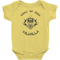son of odin valhalla Baby Onesuit