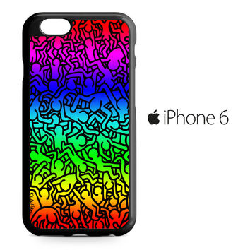 Keith Haring iPhone 6 Case