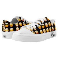 black emojis shoes sneakers printed shoes