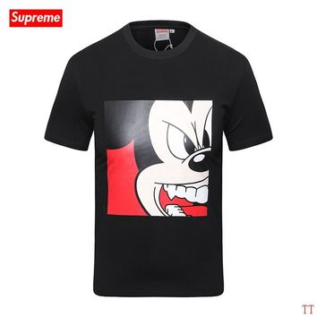 2017 New Fashion  Supreme T Shirts Short Sleeved For Men 292293