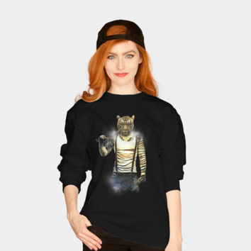 Blizzard Tiger Sweatshirt By Daniacdg Design By Humans