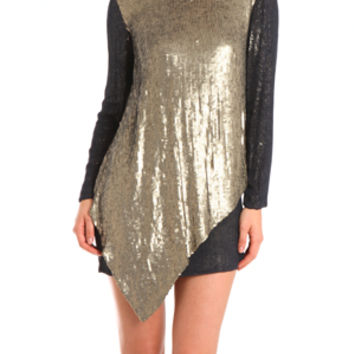 3.1 Phillip Lim Sequin-Embellished Silk Dress