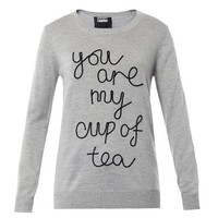 You Are My Cup of Tea wool sweater