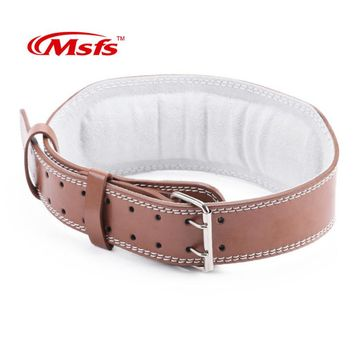 Durable Weightlifting  Leather Belt.  Perfect to give maximum support!