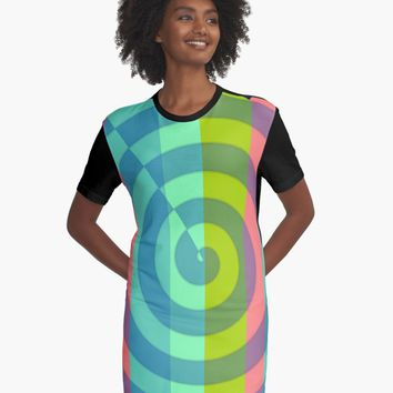 'zappwaits great' T-Shirt Kleid by zappwaits