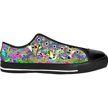 Intergalactic Shock Black Low Tops