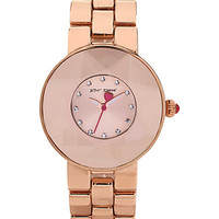CRYSTAL ROSE GOLD WATCH