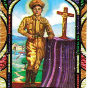 Juan Soldado Prayer card (spanish only)