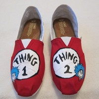 Toms canvas shoes flats CUSTOM HAND PAINTED Toms canvas shoes flats