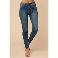 Beautiful Liar High Rise Denim (Medium Wash)