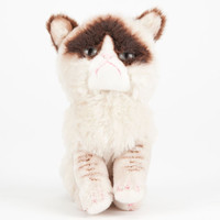 Little Grumpy Cat Plush Natural One Size For Men 24628042301