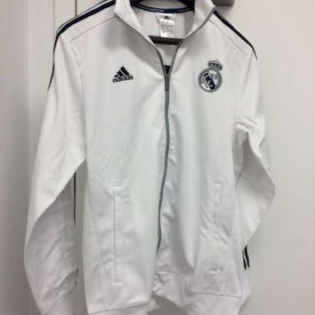 Adidas Men`S Real Madrid 3S Track Top White ( Aa1773 ) New White