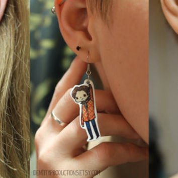 Supernatural Build-Your-Own Earrings (Sam/Cas/Dean)