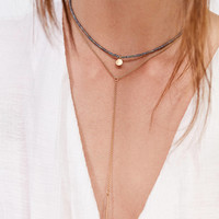Maya Beaded Layering Necklace Set | Urban Outfitters