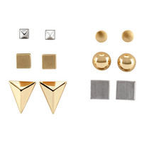 6 Pairs Earrings - from H&M