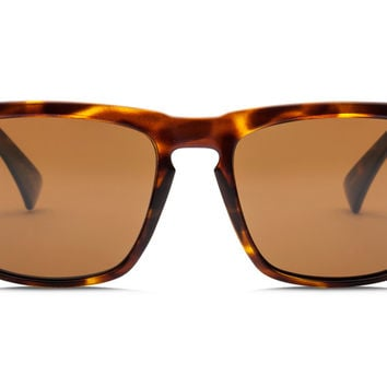Electric - Knoxville Gloss Tort Sunglasses, OHM+ Bronze Polarized Lenses